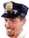 Morris Costumes GA-112BK Police Hat Black 1 Size