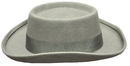 Morris Costumes GA-14GYMD Planter Hat Grey Medium