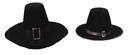 Morris Costumes GA-16MD Puritan Hat Qual Medium