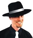 Morris Costumes GA-38LG Zoot Hat Black W Wt Large