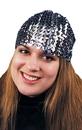 Morris Costumes GA-67BK Cloche Hat Sequin Black