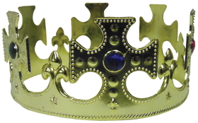 Morris Costumes GB-29 Crown Jeweled Plastic