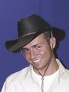 Rasta Impasta 181 Cowboy Hat Rolled Black