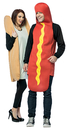 Morris Costumes GC-7295 Hot Dog And Bun Adult Couples