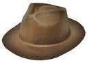 Rasta Impasta 89BN Gangster Hat Brown Foam