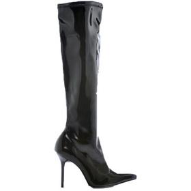 Morris Costumes HA-131BK6 Boots Emma Knee Length Bk Sz 6