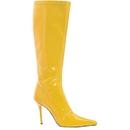 Morris Costumes HA-131YW6 Boots Emma Knee Length Yw Sz 6