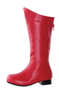 Morris Costumes HA-135RD2 Shoe Super Hero Rd Chd Sz 2-3