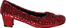 Morris Costumes HA-49RDMD Shoe Sequin Rd Child Md