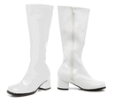 Morris Costumes HA-71LG Go Go Boot Child Size 3 White