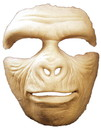 Morris Costumes HD-600126 Prosthetic Gorilla Full Face