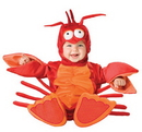 Incharacter 16025TXS Lil Lobster 6-12 Mon