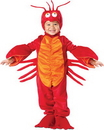 Incharacter 7511TXL Lil Lobster Toddler 4T