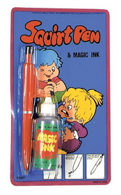 Morris Costumes KA-135 Squirt Pen With Disapprng Ink