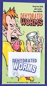 Morris Costumes KB-10 Dehydrated Worms