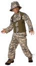 Morris Costumes LF-3502CSM Delta Force Child 4-6
