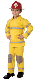 Morris Costumes LF-3522CMD Fireman Child Medium