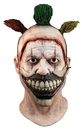Morris Costumes MA-RLFOX100 Twisty The Clown Mask Complete