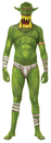 Morris Costumes MH-03762 Morph Jaw Dropper Green Adt Lg
