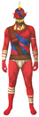 Morris Costumes MH-19893 Morph Jaw Dropper Red Adult Lg