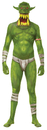 Morris Costumes MH-20233 Morph Jaw Dropr Green Child Lg