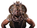 Morris Costumes MI-7114 Serpent Lord Head And Shoulder