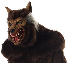 Morris Costumes MR-035011 Werewolf Deluxe Mask