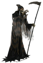 Morris Costumes MR-124341 Lunging Reaper Animated Prop