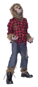 Morris Costumes MR-144020 Wolfman Child Costume Large