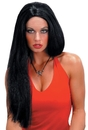 Seasonal Visions MR-176000 Wig 24 Inch Straight Black