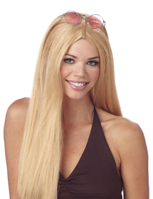 Morris Costumes MR-176002 Wig 24 Inch Straight Blonde