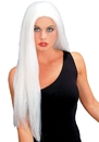 Seasonal Visions MR-176003 Wig 24 Inch Straight White