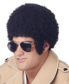 Morris Costumes MR-176008 Wig Welcome Back Afro Black