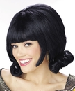 Morris Costumes MR-176010 Wig Black Flip