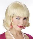 Seasonal Visions MR-176011 Wig Blonde Flip