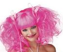 Seasonal Visions MR-177019 Wig Pink Rose Pixie