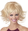 Seasonal Visions MR-177027 Wig Trippy Shag Blonde