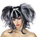 Seasonal Visions MR-177057 Wig Bad Fairy Black White