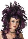 Seasonal Visions MR-177154 Wig Evil Sorceres Black Purple