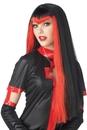 Seasonal Visions MR-177156 Undertone Vamp Wig Black/Red