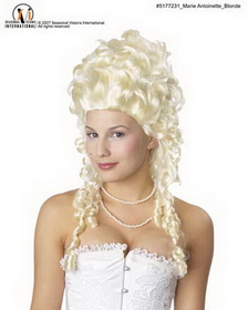 Morris Costumes MR-177231 Marie Antionette Wig Blonde