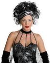 Seasonal Visions MR-177282 Wicked Widow Wig Black/White