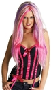 Seasonal Visions MR-177305 Rebel Witch Wig Blonde/Pur/Pk