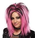 Seasonal Visions MR-177348 Wig Rock Longer Pink