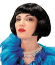 Seasonal Visions MR-179013 Wig Flapper Black