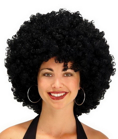 Seasonal Visions MR-179022 Afro Wig 22 Inch Black