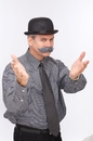 Papermagic 531231 Mustache The English Grey