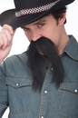 Papermagic 531367 Mustache The Western Black
