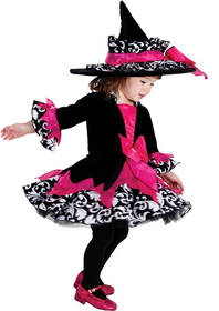 Morris Costumes PP-4041TL Janie The Witch Tod 18M/2T