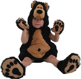 Morris Costumes PP-4050TM Bruce The Bear Tod 12/18M